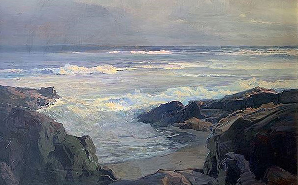 Frederick Judd Waugh Oil Painting of the Sea